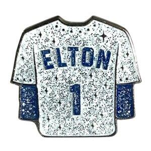 Эмалированный штифт Elton John #1