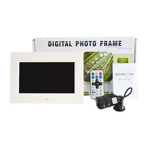 Digital-Photo-Frame Backlight Led Hd 7inch Music-Video Full-Function