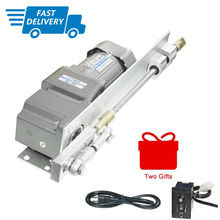 120W Linear Actuator AC Electric Motor+Speed Controller Kits 110V/220V AC Geared Motor Stroke 160mm/6.3inch for Spraying Machine