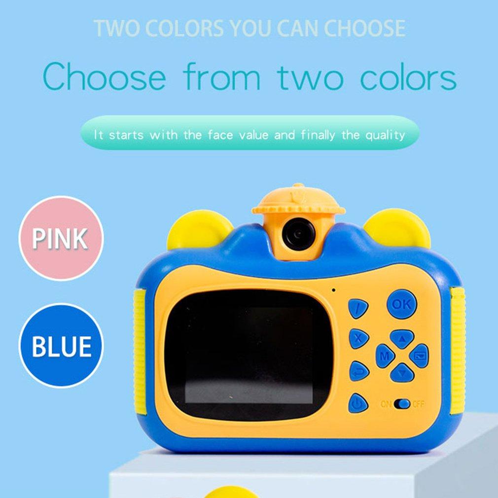 Детский мини-камеры можно делать снимки и печатать в HD качестве платной экране фотографии реквизит милый день рождения игры подарок открытый ребенок