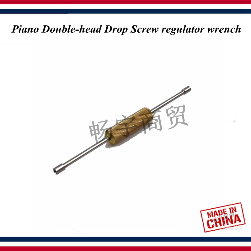 Piano Tuning Tools Accessories High Quality Piano Double-head Drop Screw Regulator Wrench Piano Repair Tool Parts