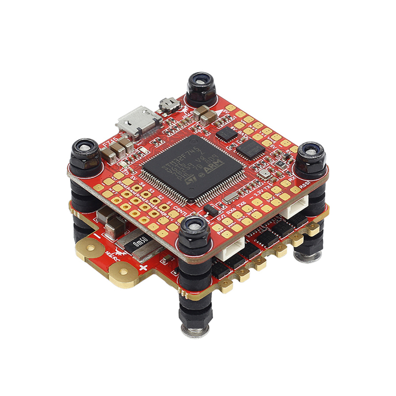 HGLRC FD F7 Dual Gyroscope 60A 3-6S BL32 4in1 STACK Flight Control&DinoShot Blheli_32 4IN1 ESC for FPV Racing RC Drone