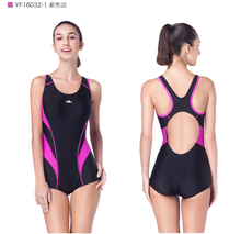 Fashion Bathing Suit Slimming Training Swimsuit One Piece 2019 Swimwear Women Arena Competitive Swimming Suit for Triatlon Mujer(China)