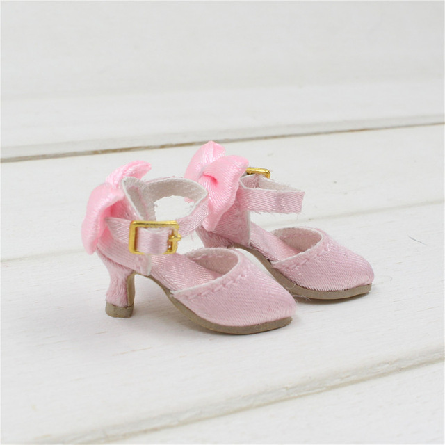 Neo Blythe Doll Pink Shoes 1