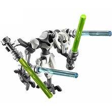 Única venda geral grievous figuras blocos compatíveis com legoing wars modelos blocos de construção brinquedos para crianças