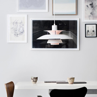 50cm 북유럽 펜 던 트 램프 ac 90-240 v 연구 hanglamp 현대 침실 거실 조명 교수형 거실 펜 던 트 전등