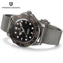 PAGANI DESIGN 2021 New 007 Seamaster orologi automatici per uomo orologio meccanico uomo impermeabile giappone NH35 orologio uomo Reloj Hombre