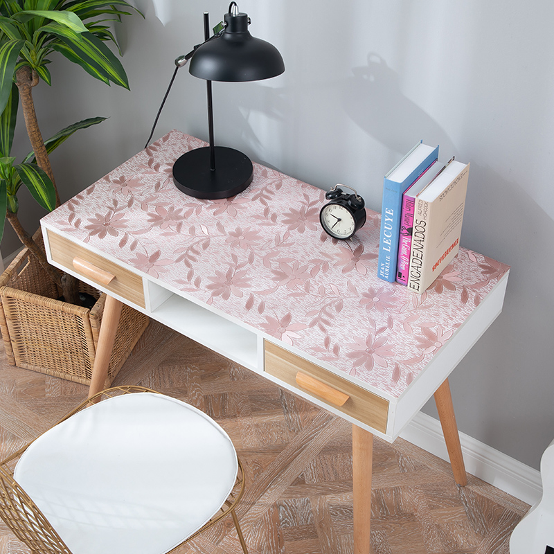 Modern Student desk tablecloth Desk mat PVC waterproof oilproof dinner table pad Coffee table party decoration mat custom made in Tablecloths from Home Garden