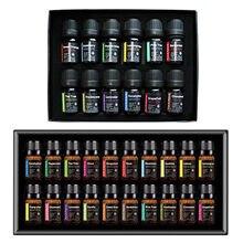 12/20 unids/set aceites esenciales puros de la planta Natural Aroma difusor de aceite esencial de eucalipto de vainilla, menta eucalipto Rosa aceite de árbol de té
