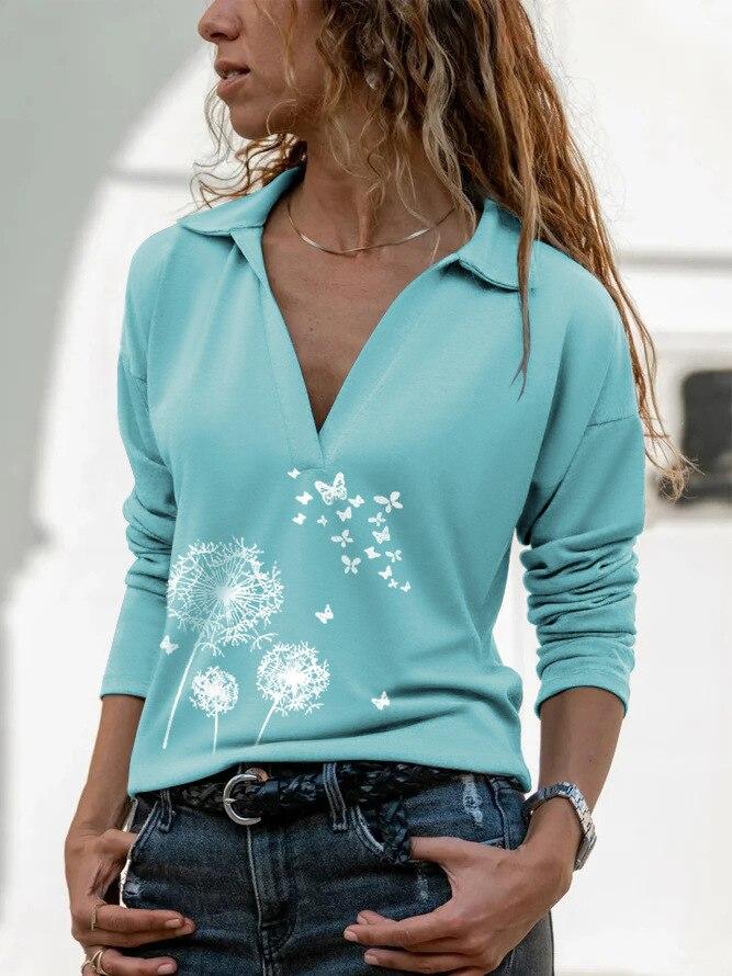 Aprmhisy Graphic Shirts Women Autumn New Long Sleeve Casual Streetwear Blouse Shirt Blusas Femininas 9