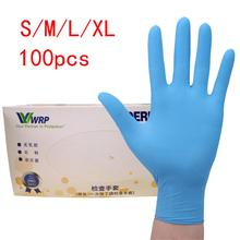 100pcs/set Disposable Gloves Latex For Home Cleaning Medical/Food/Rubber/Garden Gloves Universal For Left And Right Hand