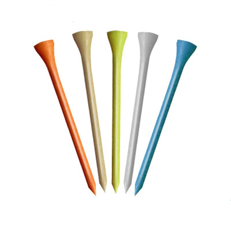 Golf Tees 42/54/70/83mm Olf Wood Tees Professional Golf Tees Driver Training Golf Accessories 8 Colors Available