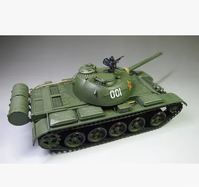 TRUMPETER 00320 Military 1/35 China Type 59 120mm Gun Improved Tank Assembled Model Electric Handmade