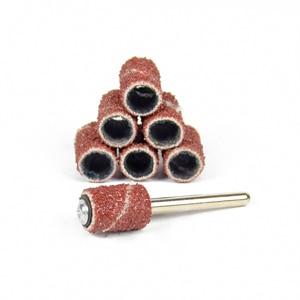 Image 5 - Новинка 50 шт. шлифовальные втулки диаметр 6,35 мм резьба по дереву подходит для вращающихся инструментов