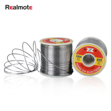 Realmote 0.5/0.8/1.0mm 500g Core Of Medicine Tin Solder Silk 63/37 Yes Lead Tin Wire Avoid Wash Tin Solder Tin Line Tin Wire