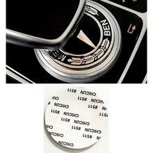 Автомобильная интерьерная мультимедийная ручка, наклейка, аксессуары для Mercedes AMG W211 W212 W210 W203 W204 W126 W168 W169 W176 W177 W220 W221