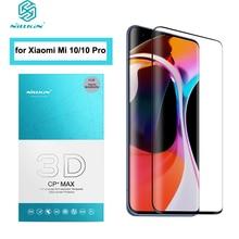 For Xiaomi Mi 10 Glass NILLKIN 3D CP+MAX 3D Arc Edge Full Coverage 0.33 MM Anti scratched Screen Protector for Mi10 Pro стекло