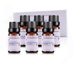 6 rodzajów 10Ml olejki eteryczne aromaterapia olej do Aroma dyfuzor nawilżacz zapach lawendy z drzewa herbacianego rozmaryn trawy cytrynowej w Nawilżacze powietrza od AGD na