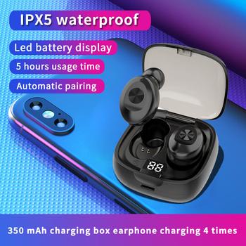 2020 Hot sprzedam Bluetooth 5 0 TWS słuchawki prawdziwe słuchawki bezprzewodowe słuchawki douszne Busiess słuchawki 3D dźwięk radia słuchawki sportowe tanie i dobre opinie OUIO CN (pochodzenie) tws XG8