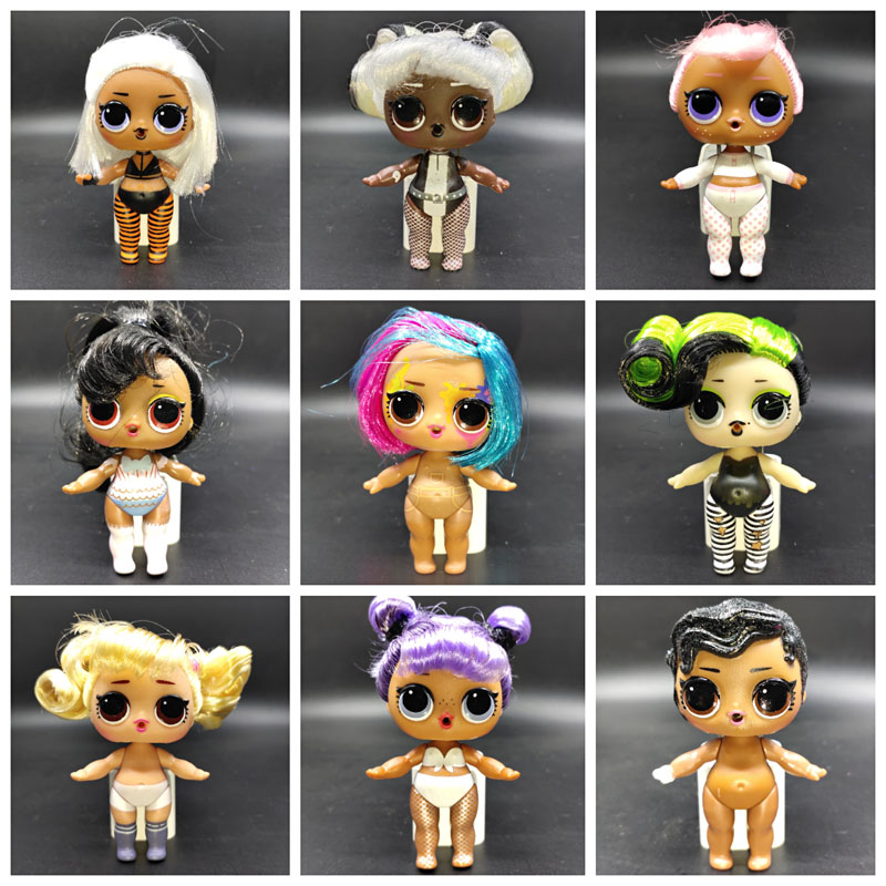 Genuine LOL Surprise Dolls Original Lols Dolls Hair Dolls Lol Surprise Dolls Hairgoals Dolls For Girls Birthday Gifts