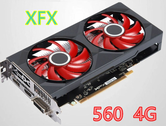 Graphics Cards for AMD RX 500 series VGA Video Card With RX560 4GB 4G HDMI 1