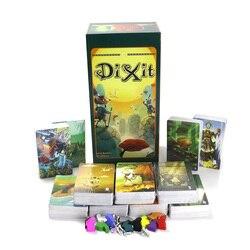 Mini dixit 1 + 2 + 3 + 4 + 5 + 6 + 7 + 8 + 9 + 10 + 11 bord spiel, insgesamt 858 karten, sagen geschichte verbessern phantasie für kinder familie party karte spiele
