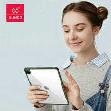 Чехол xundd для ipad pro 11 2020 прозрачный защитный чехол планшета