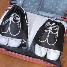Новые водонепроницаемые сумки для обуви путешествий Портативная
