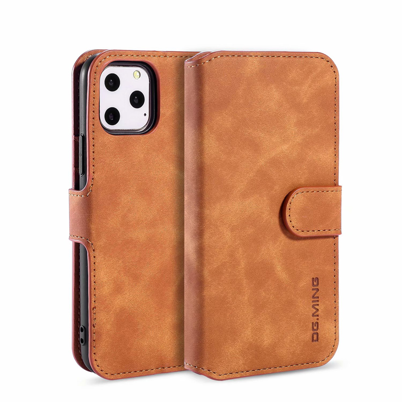 Premium Leather Flip Wallet Case for iPhone 11/11 Pro/11 Pro Max