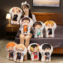 30cm Anime Haikyuu Plush Toys Hinata Shoyo Kageyama Tobio Oikawa Tooru Kozume Kenma Dolls Home Decorative Pillow
