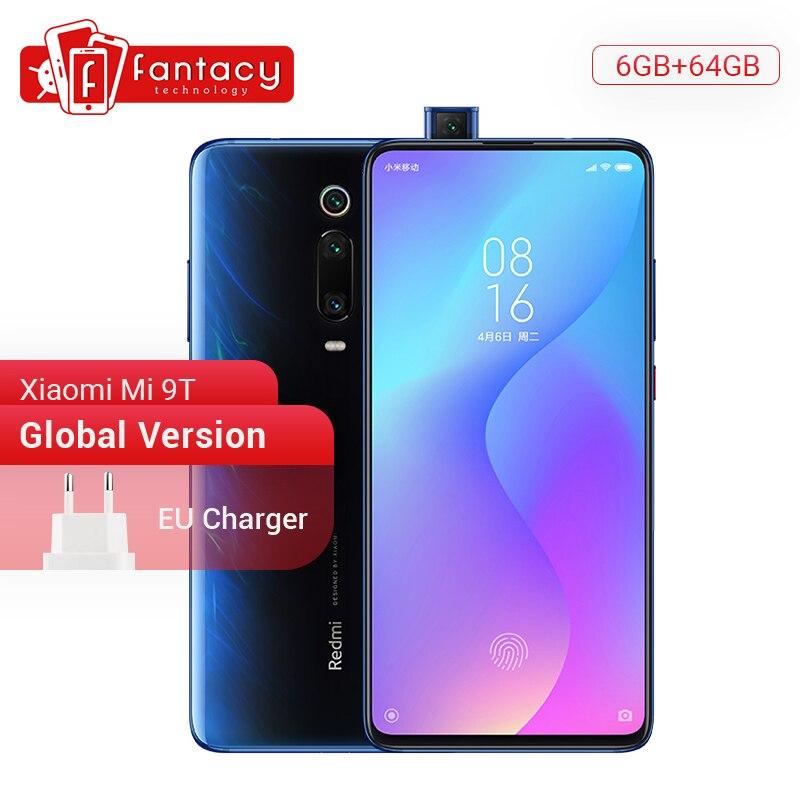 Version mondiale rouge mi K20 Xiao mi 9 T 9 T 6GB 64GB Snapdragon 730 Octa Core Smartphone 6.39 ''AMOLED 48MP caméras 4000mAh NFC