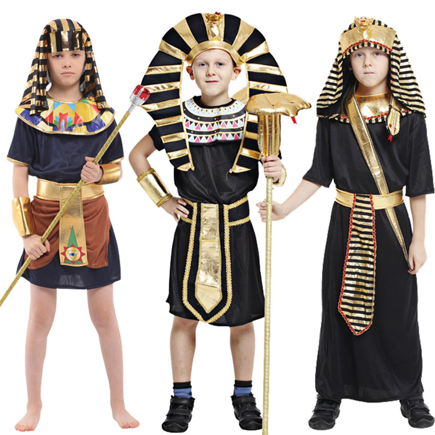 Egyptian Pharaon King Costume for Purim Halloween Adults//Childs Fancy Dress