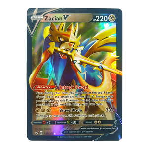 New 30ocs V&Vmax Pokemon Cards Shining Card English Sword & Shield Booster Box Collectible Trading Card Game For Childrens