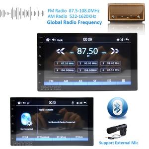 2 Din Carplay Автомагнитола Зеркало Ссылка Bluetooth 7