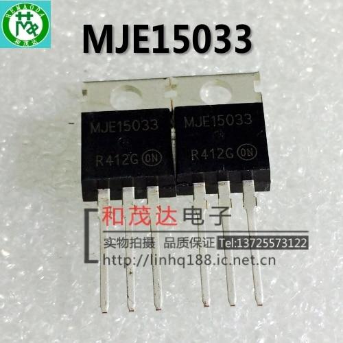 5PCS MJE15033G  TRANSISTOR TO-220 LOT OF 5