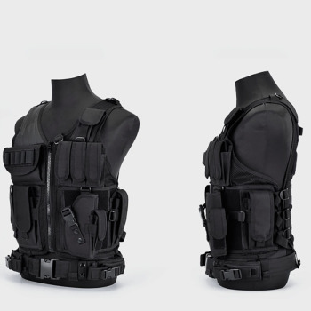 Multi-Pocket Hunting Clothes Swat Tactical Vest Swat Chest Rig SWAT Army Hunting Protective Vest Camping Shooting Accessories 1