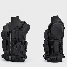 Multi Pocket Hunting Clothes Swat Tactical Vest Swat Chest Rig SWAT Army Hunting Protective Vest Camping Shooting Accessories