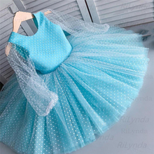 Bow-Dress Tutu Christening-Gown First Toddler Girls New Cute Infant Christmas-Party Born