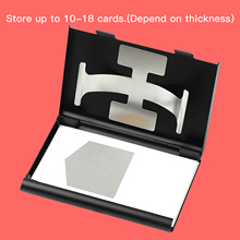 Business-Card-Holder for Men Women Silde-Out Thumb-Drive