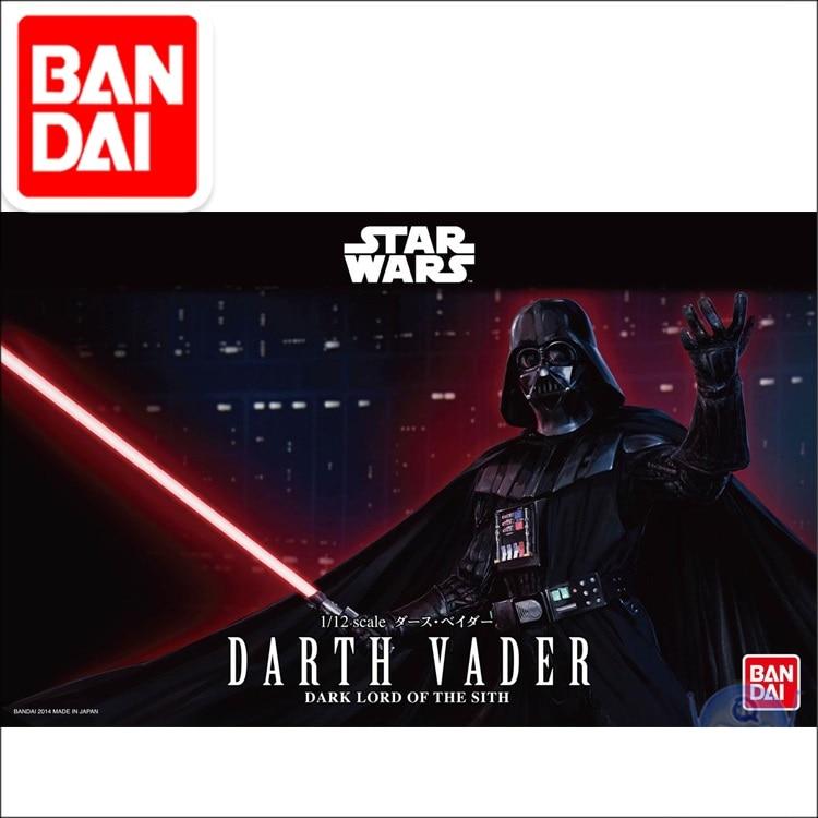Original STAR UN WARS Darth Vader Returns Of The Jedi 1/12 Plastic Model Kit Figure Model Kids Dolls Toys Figurals Gift For Fans