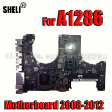 Placa de sistema a1286 placa-mãe para macbook pro 15