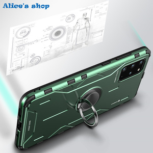 Image 5 - Full Protection Shockproof Hybrid Silicone Aluminum Metal Case For Samsung Galaxy S20/ Plus/ Ultra Luxury Armor Hard Cover Case