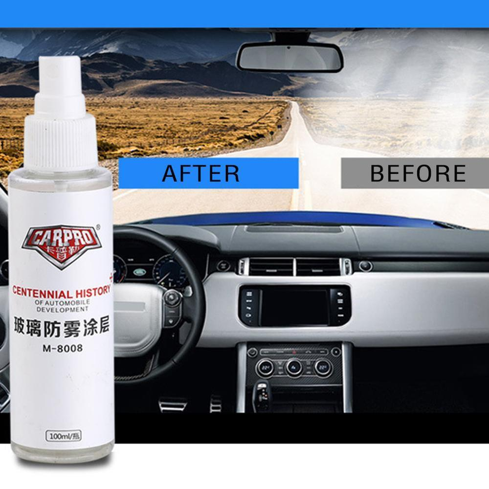 2 100ml Auto Windscreen Coat Glass Fogging Agent Hydrophilic Car Defog Anti Fog Agent Rearview Mirror Glass Coating High Quality