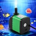 Электрический погружной водяной насос  водяной насос  погружной насос  модный аквариумный кислородный фонтан  светящийся мини-насос