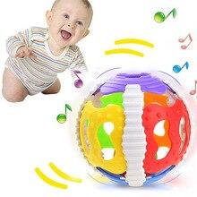 Śmieszne zabawki dla dzieci mały głośny dzwonek piłka grzechotki mobilna zabawka dla dzieci Speelgoed noworodek inteligencja chwytanie zabawek edukacyjnych