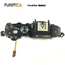 소니 A7R 카메라 교체 유닛 수리 부품 용 셔터 플렉스가있는 원본 A7R 윗면 덮개 전원 스위치 셔터 버튼