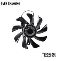 Novo original para safira rx470d itx platina oc placa gráfica ventilador de refrigeração t129215su dc12v 0.50a diâmetro 85mm|fan for acer aspire|laptop cpu cooling fancpu cooling fan -