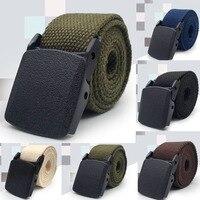 Cinturón táctico ajustable para hombre, cinturón militar de nailon, estilo militar, fajas con hebilla para hombre, talla grande