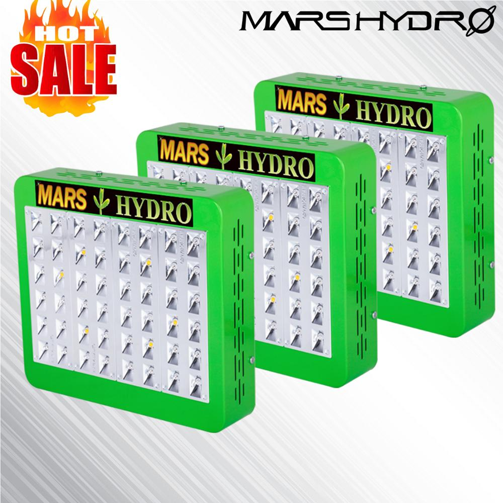 Mars Hydro Reflector 300W Led Grow Lights Full Spectrum Hydroponic Indoor Plants