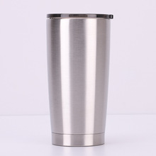 20oz stainless steel car cup European and American double vacuum flask ice